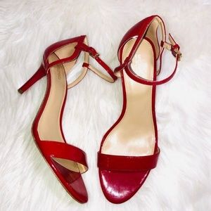 Michael Kors High Heel Sandals Red 10
